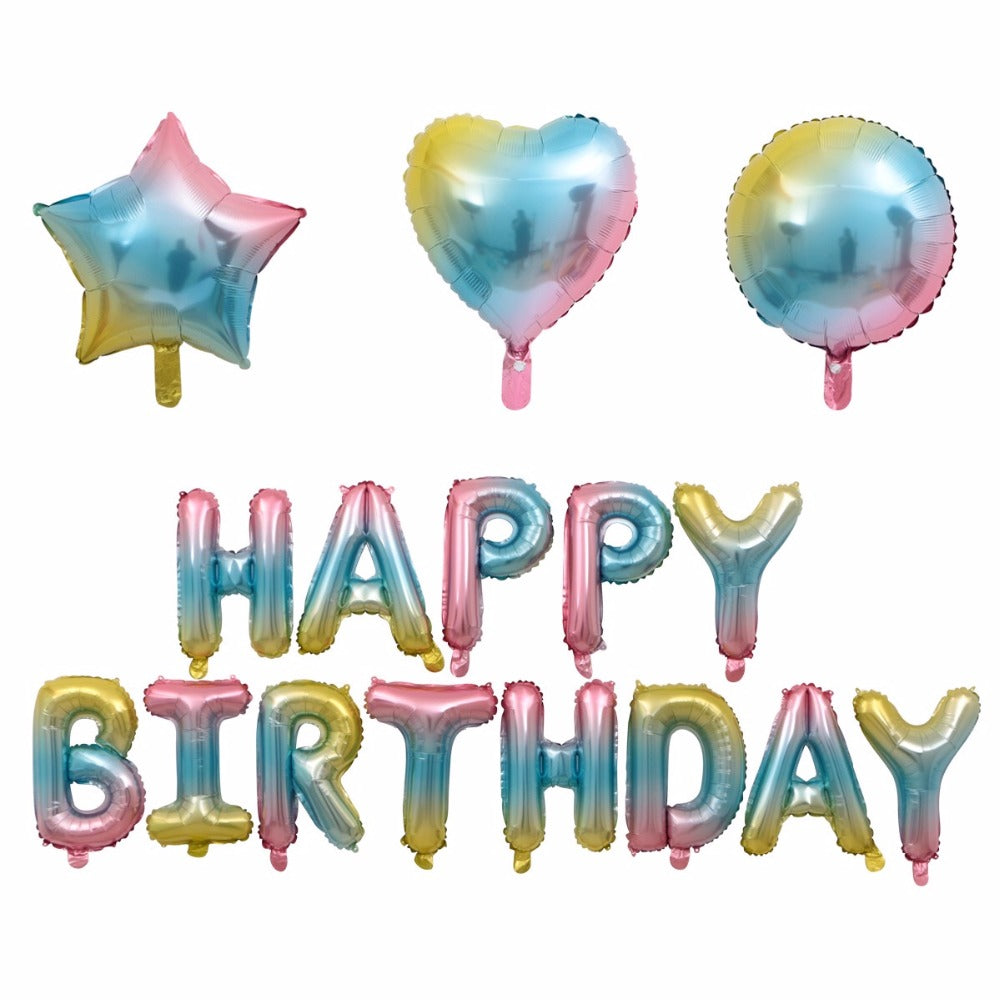 Candy Floss Birthday Balloon Bundle