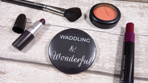 Waddling and Wonderful Pocket Mirror