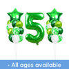 Green Confetti party pack