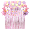 61 Piece Unicorn Balloon Arch Party Pack