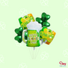 St Patricks day balloon bundle (Option to send inflated)