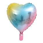 1st Birthday - Blue, Yellow & Pink Candyfloss Party Decorations Kit