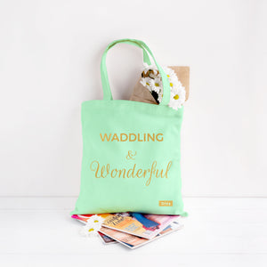 Waddling and Wonderful Pregnancy Tote