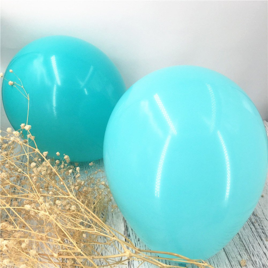 PRE - ORDER : Teal & Gold Confetti 5th Birthday Balloon Set