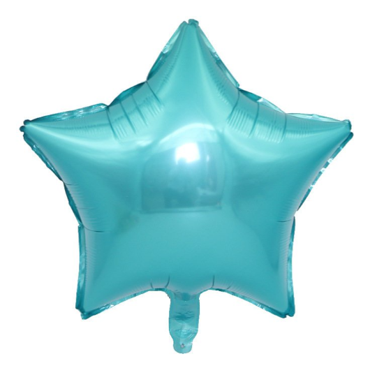 PRE - ORDER : Teal & Gold Confetti 9th Birthday Balloon Set