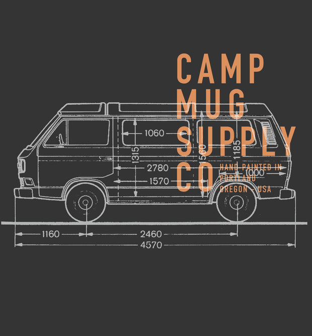 Vanagon Schematic (100% Recycled)