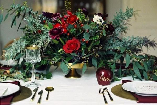 3 Christmas Colour Schemes for a Winter Wedding-Fascinators Direct