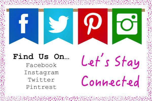 Stay Connected on Social Media-Fascinators Direct
