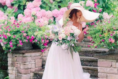 Vintage Garden Wedding Ideas for Summer-Fascinators Direct