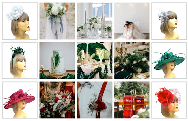 Christmas Wedding Colour Ideas