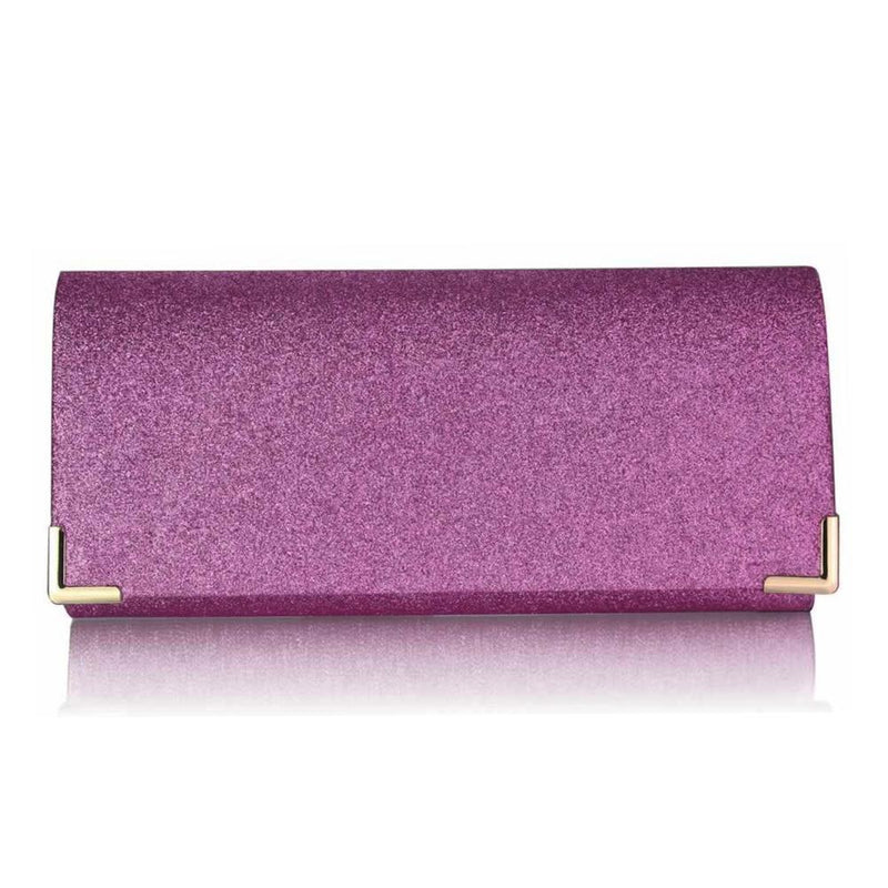Pink Glitter Clutch Bag-Fascinators Direct
