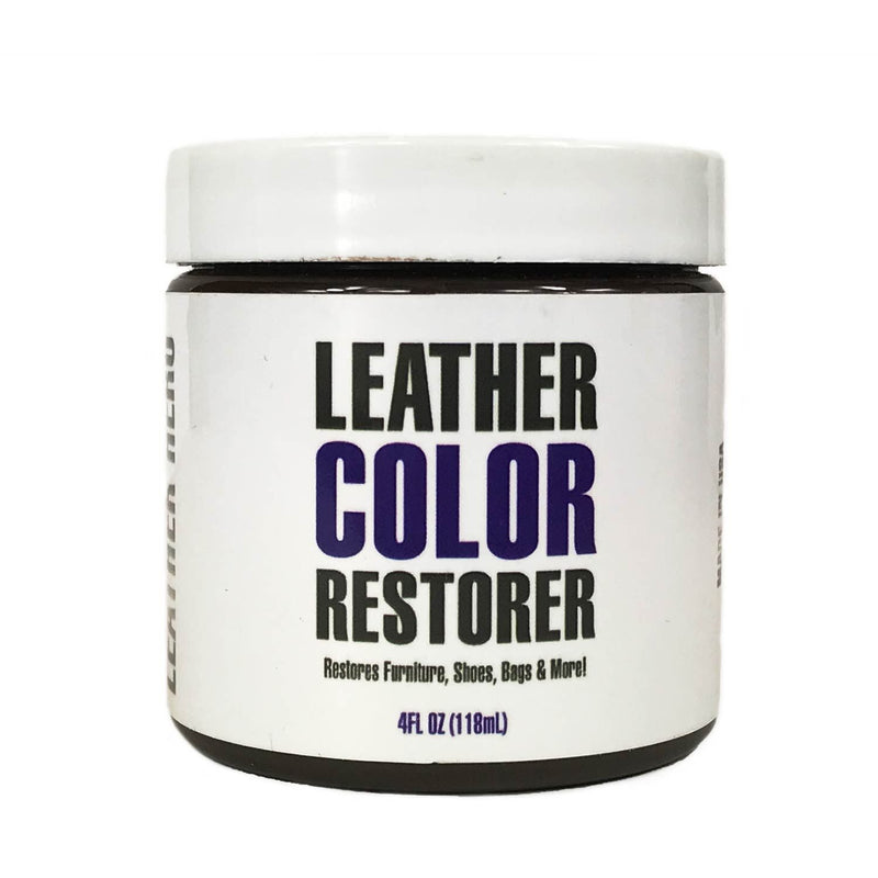 How To Use Leather Hero Color Restorer