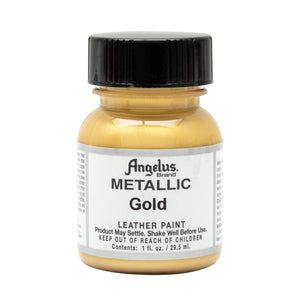 Angelus Metallic Paint for Leather Acrylic