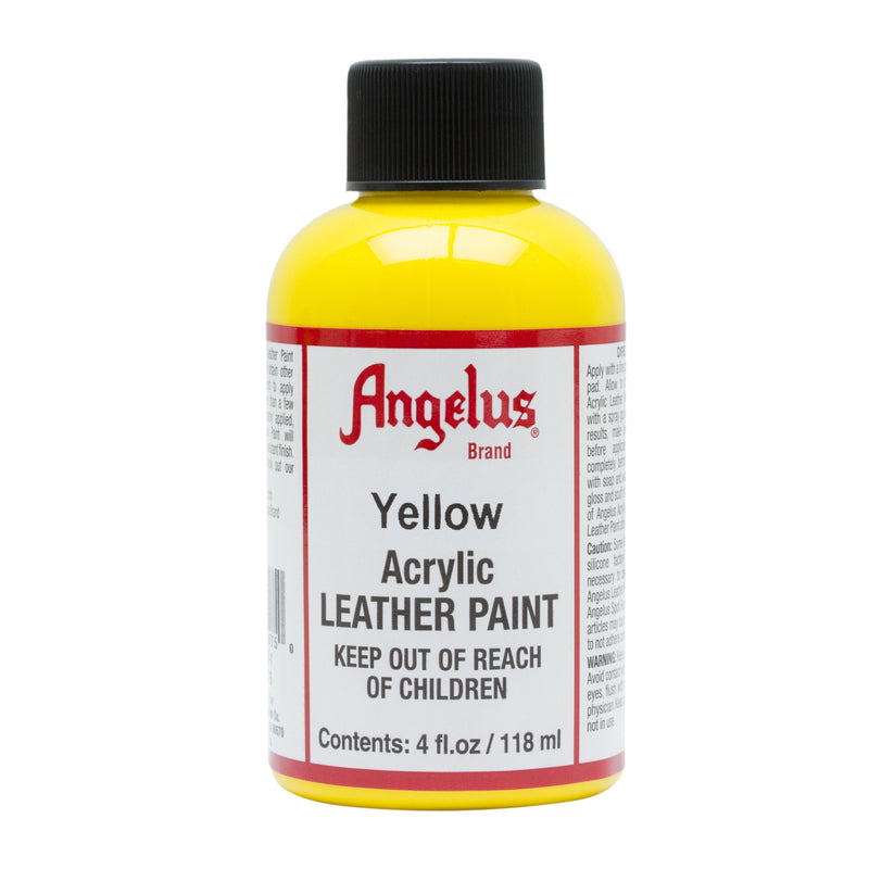 Angelus Acrylic Leather Paint Dye For Shoes, Couches, Handbags, and More 4oz