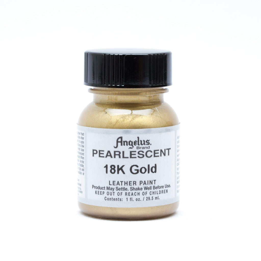 Angelus Pearlescent Leather Paint W/ Applicator- 1oz