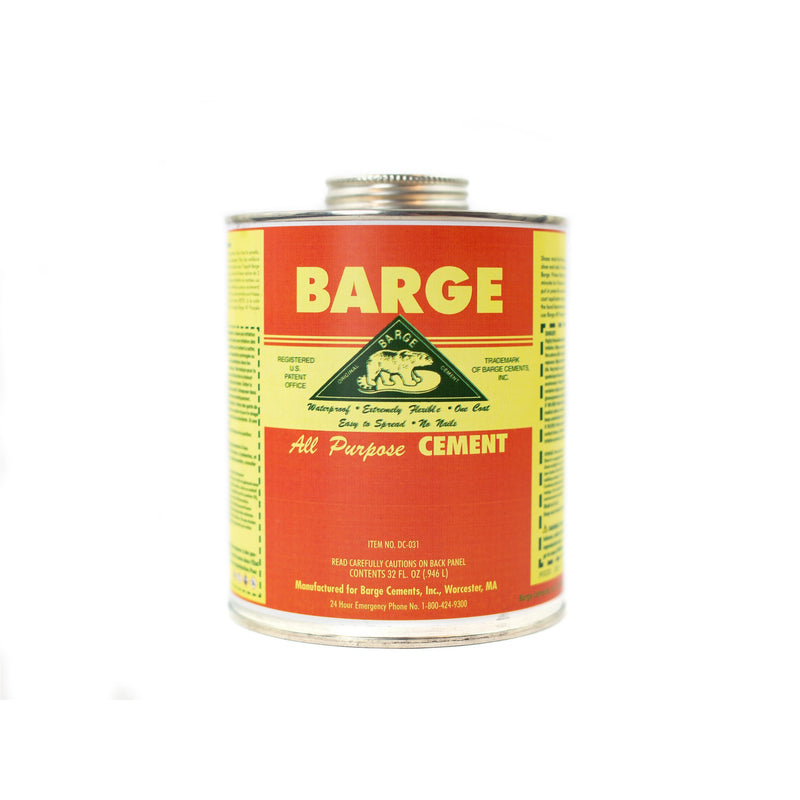 Barge All-Purpose Cement Rubber Leather Shoe Waterproofing Glue 1 Quart (946L)