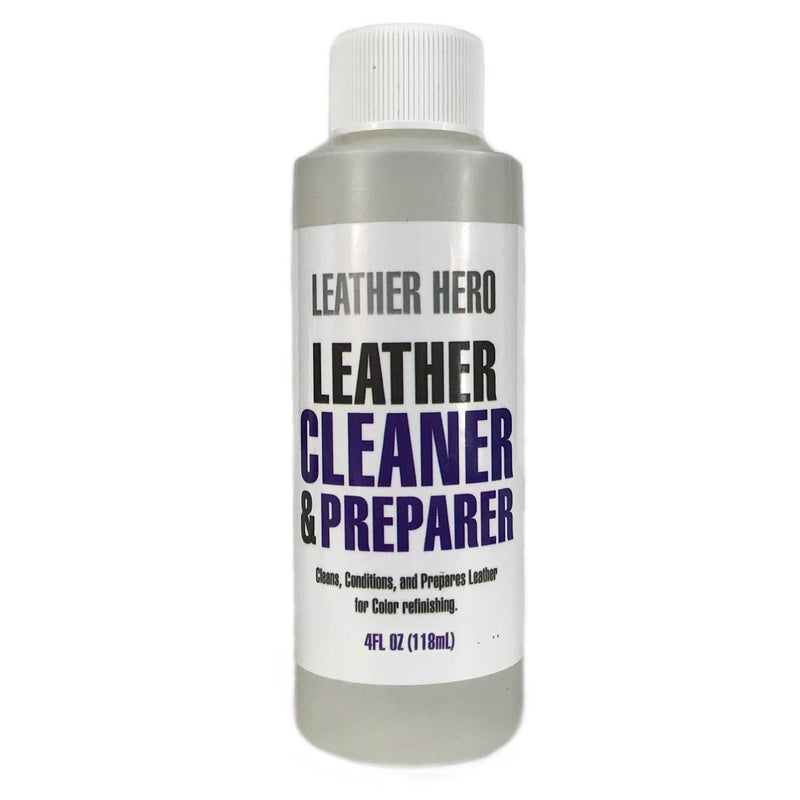 Leather Hero Leather Cleaner & Conditioner 4oz (Makes 16oz)