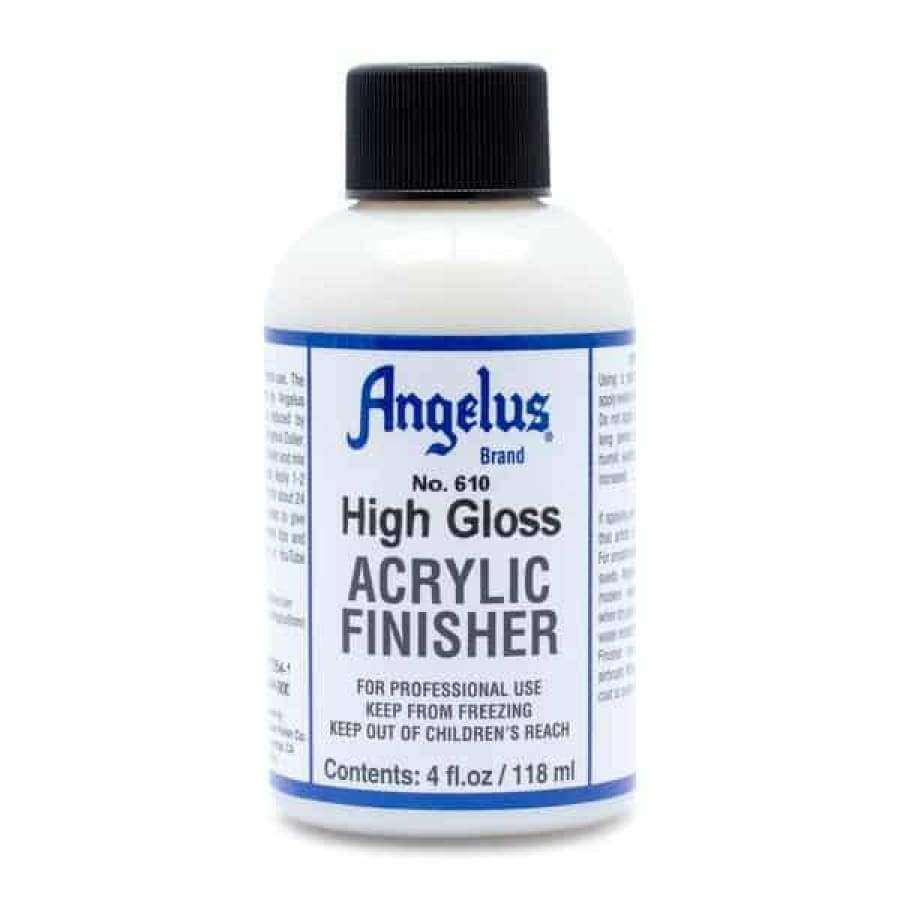 Angelus Acrylic High Gloss Finisher 610 - 4oz