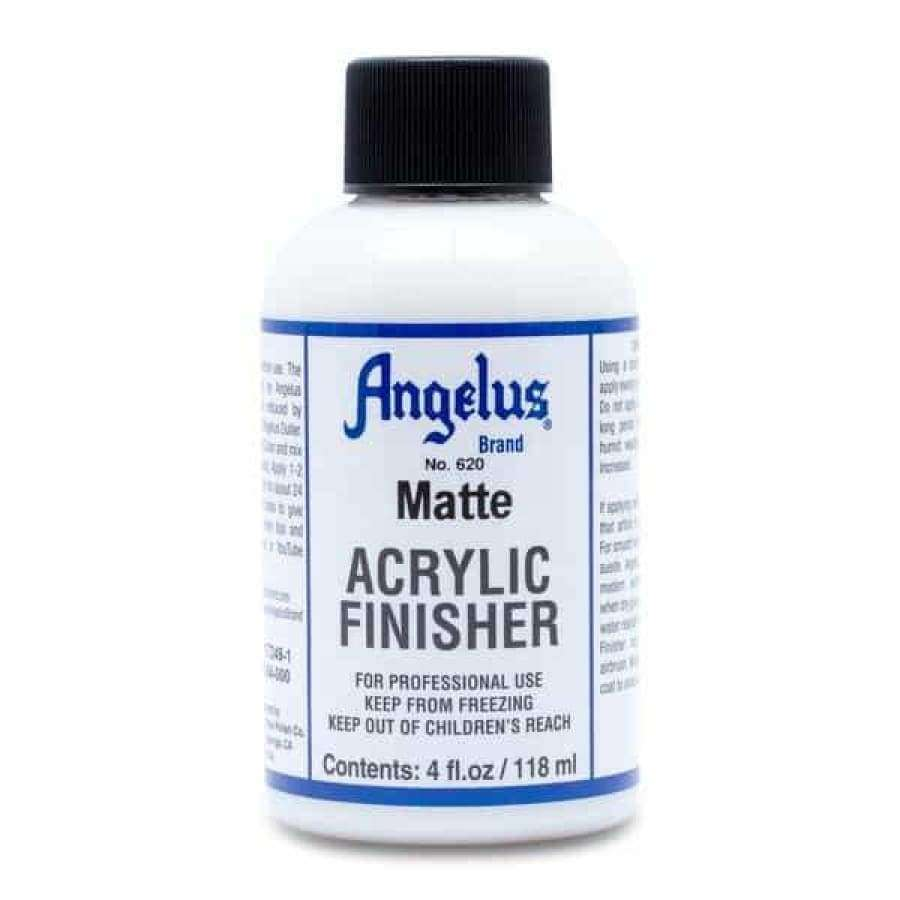 Angelus Acrylic Matte Finisher 620 For Leather Paint