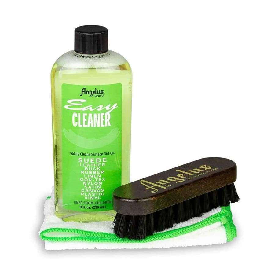 Angelus Easy Cleaner Kit With 8 oz. Cleaner, Brush and Microfiber Towel