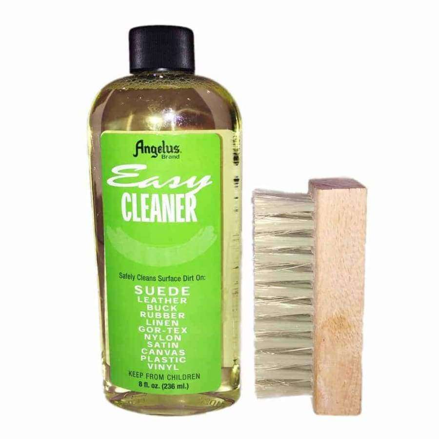 "Angelus Easy Cleaner Suede Cleaning Kit 8oz with 4"" Brush"