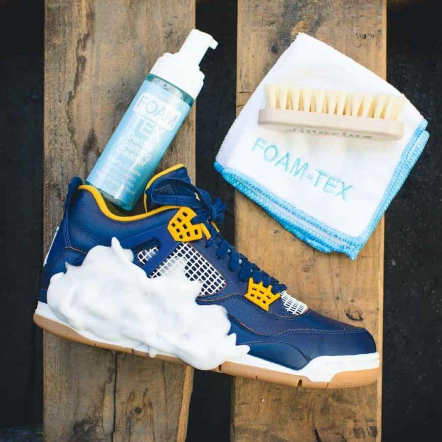Angelus Foam Tex Sneaker Cleaning Kit Cleaner, Brush, and Towel