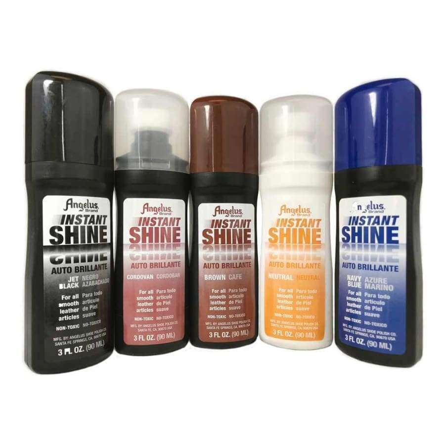 Angelus Instant Shine Liquid Shoe Polish 3 Fl Oz