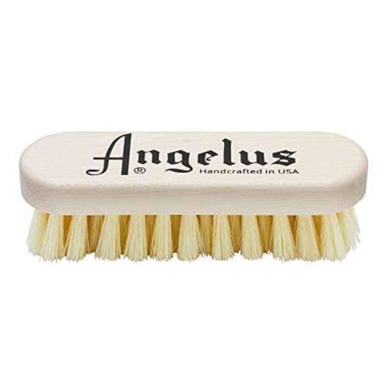 Angelus Shoe Cleaning Brush Premium Hog Bristle Sneaker Cleaner Brush 5""