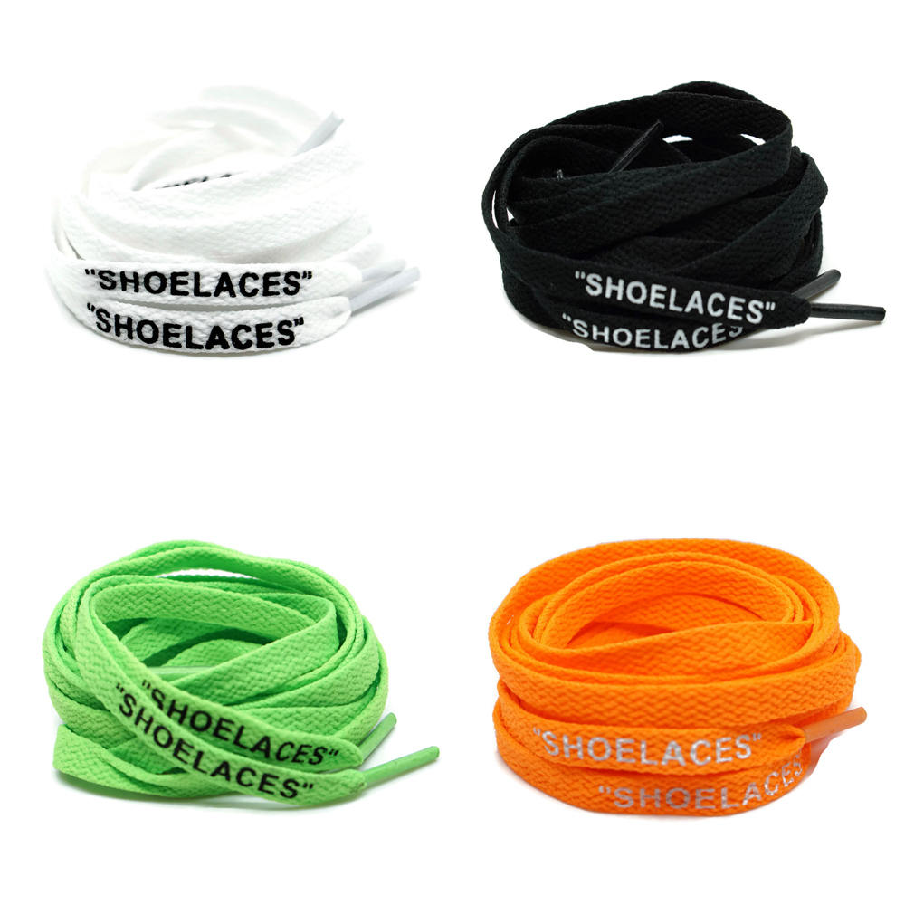 Off White Shoe laces For Sneakers In All Colors Flat Laces Lace Envy