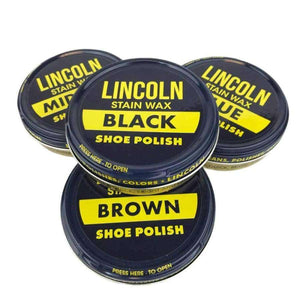 Lincoln Shoe Polish & Wax 3oz