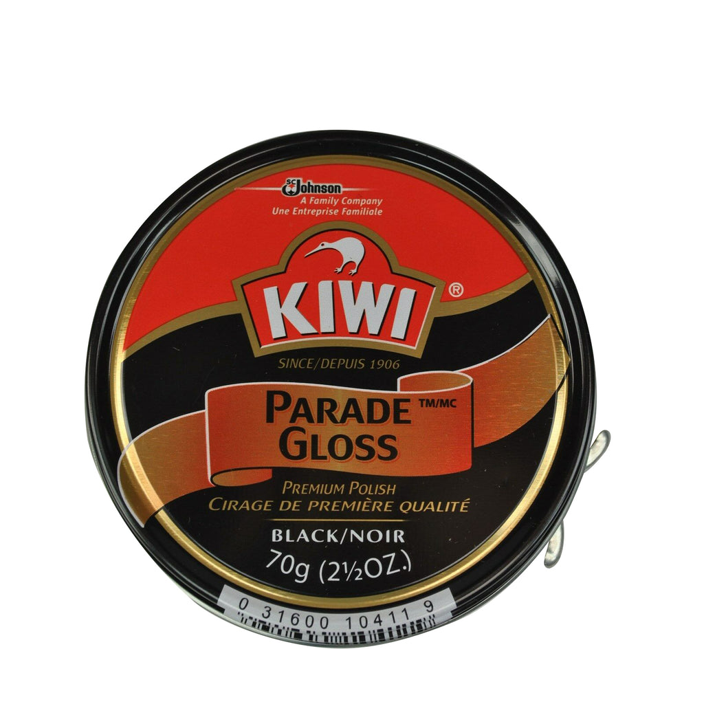 Kiwi Parade Gloss Black 2.5oz Large Can Black