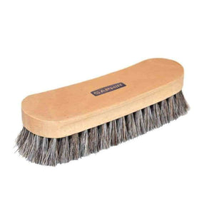 Saphir Horsehair Brush Shoe Buffing Brush 7""
