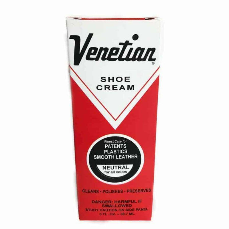 Venetian Shoe Cream Neutral 3oz Leather Conditioner
