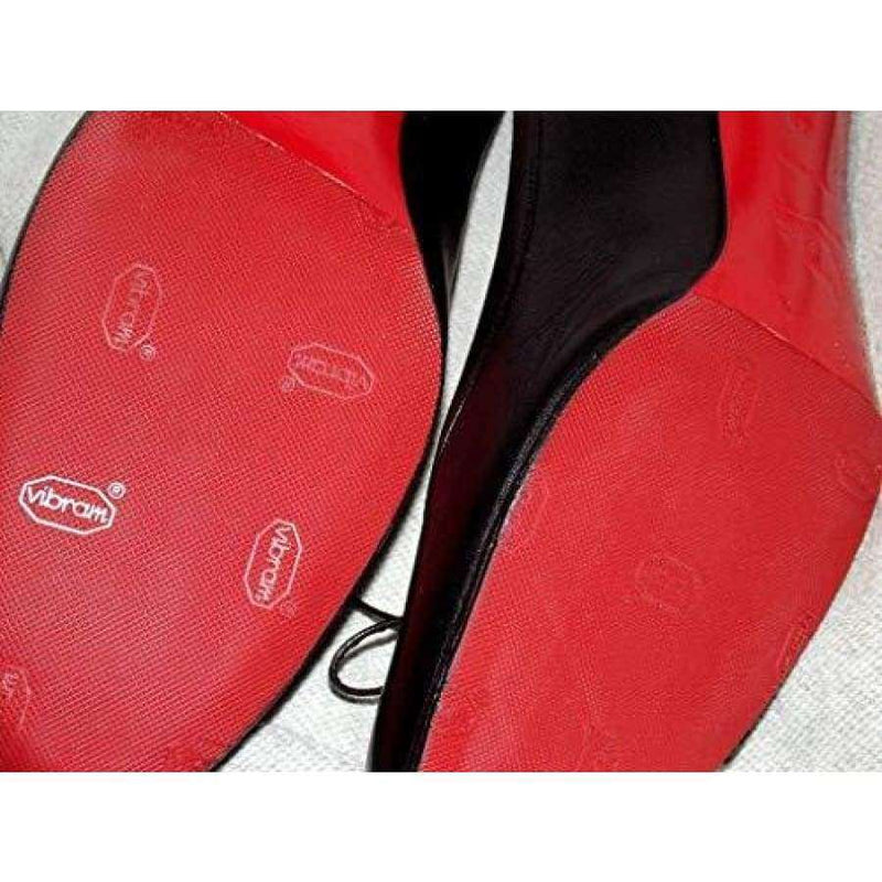 Vibram Red Rubber Sole Replacement