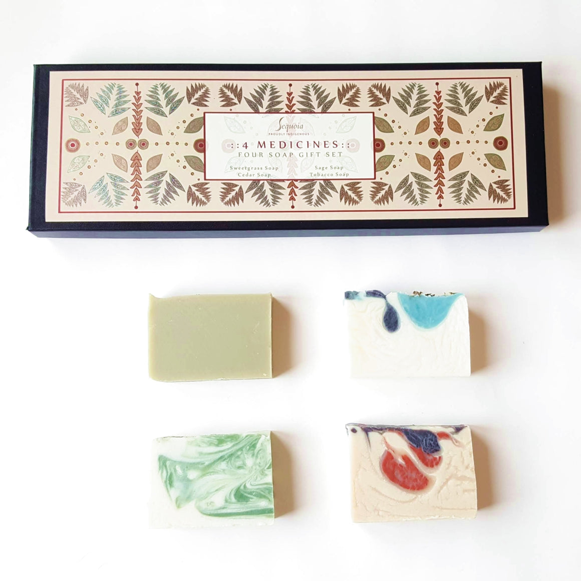 Four Medicines Four Soap Gift Set