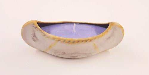 Small Blackberry Sage Canoe Candle