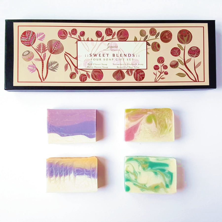 Sweet Blends Four Soap Gift Set