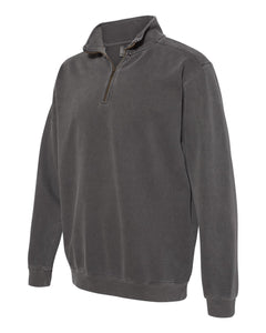 Pepper Comfort Colors Quarter Zip Sweatshirt