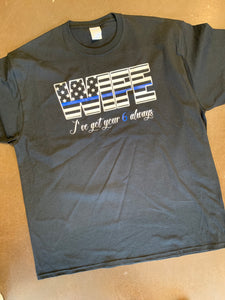 Thin Blue Line Wife