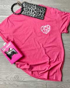 YOUTH Heart Monogram Tee