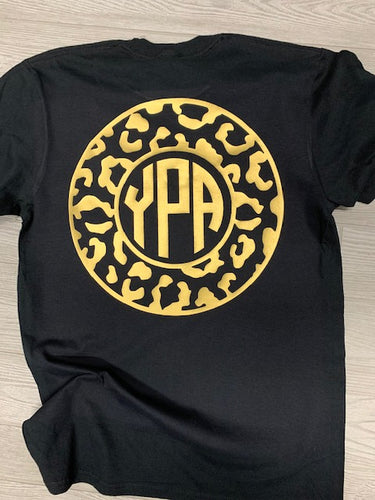 Leopard School Spirit Monogram **OPTIONS**
