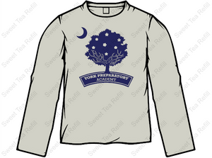 Long Sleeve YPA Tree Tee