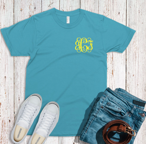 Bella Short Sleeve Monogram