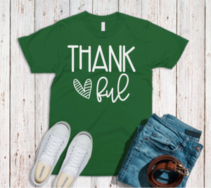 Thankful, Grateful, Blessed Tees