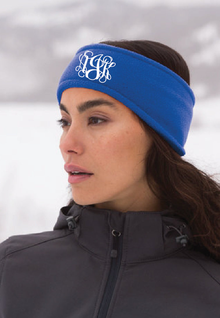 Monogram Ear Warmer