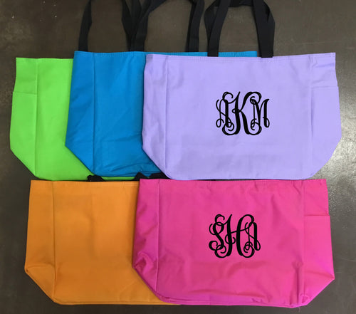 Perfect Monogram Tote