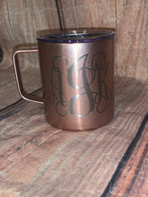 Rose Gold Travel Coffee Mug