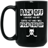 Back Off Coffee Mug