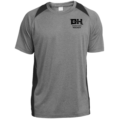 Heather Colorblock Poly T-Shirt