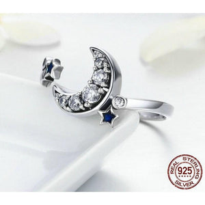Moon & Star Ring - NORTHCHARM